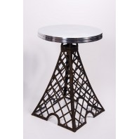 """Parisian Park"" Eiffel Tower Table with Aluminium top"