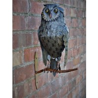 Perched Owl Wall Decoration