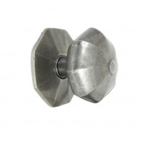 """Beaufort"" Pewter Patina Octagonal Centre Door Knob"