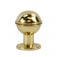 Polished Brass Ball Cabinet Knob