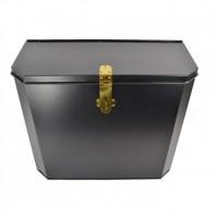 """""""Billingsgate"""" Large Secure Parcel Box - Polished Brass"""