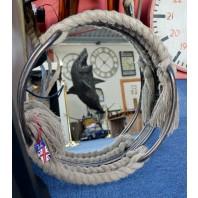 Porthole Styled Mirror