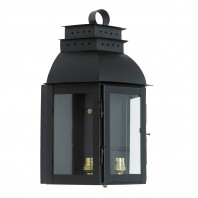 Black 'Portsmouth'Wall Lantern