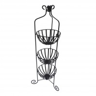 """Provins"" Black Vegetable Rack"