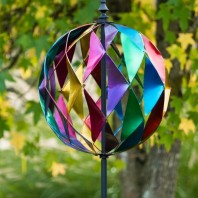 Rainbow Sphere Wind Spinner