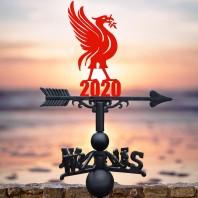 Red Liver Bird 2020 Weathervane