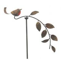 Red Robin Garden Balancing Spike