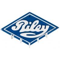 """Riley Motors"" car hook and key rack"