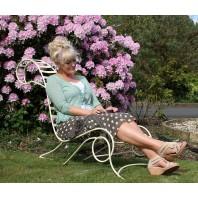 """Rosey Templeton"" Vintage garden Chair recliner"