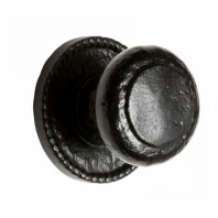 Round Ornate Cast Iron Door Knobs