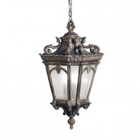 Royal Antique Gold Hanging Lantern