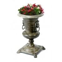 Royal Danford Urn Bronze with cream wash