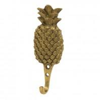 Rustic Brass Pineapple Wall Hook