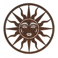 Rustic Sun Wall Art