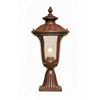 Rustic Traditional Pillar Light 51cm