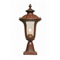 Rustic Traditional Pillar Light 51cm