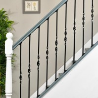 """Acadia"" Single Bold Twist Stair Spindle"