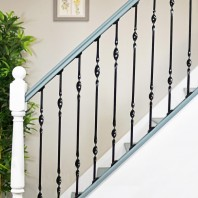 """Acadia"" Double Bold Twist Stair Spindle"