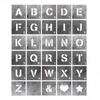 Individual Scrabble Squares Letters & Symbols- Unfinished Metal