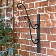 Scrolled Hanging Basket Bracket