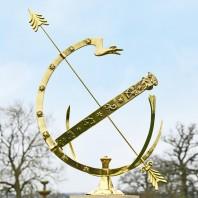 "Polished Brass ""Serpent""  Armillary - 67cm"