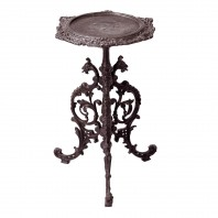 """Serpent"" Gothic Rustic Cast Iron Side Table"