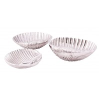 """Shoreline Shells"" Kitchen Serving Bowls"