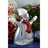 Snowman Aluminium Christmas Decoration