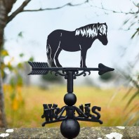 Shetland Pony Weathervane