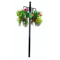 """Dashwood"" Hanging Basket Pillar"