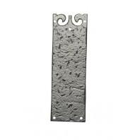 """""""Haltwood"""" Blacksmith Style Finger Plate"""