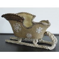 Christmas Sleigh Ornament