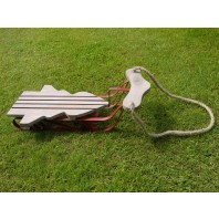 Small Christmas Tree Shaped Sleigh