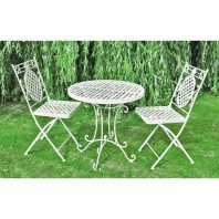 """Aunt Hilda"" Garden Twin Table Set"