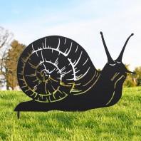 Black Snail Silhouette