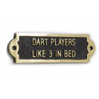 Dart Players Like It Three In A Bed