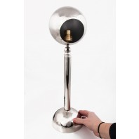"""""""Wallseley Place"""" Contemporary Chrome Table Lamp"""