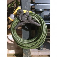 Rustic Squirrel Hose Holder