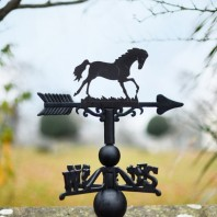 Large Horse Weathervane Made In Cast Iron