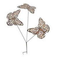 Standard Rustic Butterfly Garden Spike Decoration