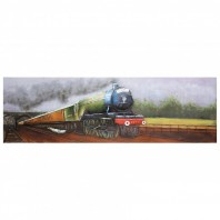 Steam Train 3D Wall Art