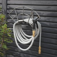 "Steel ""Arch"" Wall Mounted Hose Holder by Garden Trading"