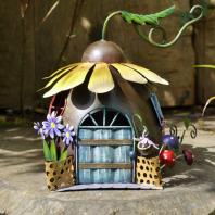 Sunflower Fairy Flower House Ornament