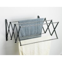 Lindham Spacesaving Foldaway Towel Rack