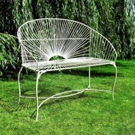 "The Captivating ""Horizons"" Garden Seat"