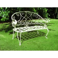 """The Graceful Bewick"" Garden Bench"