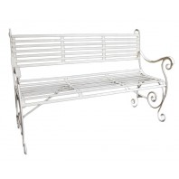 """The Winchester"" Wrought Iron Bench"