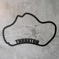 Thruxton Race Track Steel Wall Art