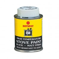 Tin of Black Heat Resistant Paint - 100ml
