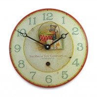 Toy Drum Design Wall Clock